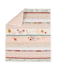 Made With Love Mamas & Papas Mini Coverlet Baby Quilt BNWOT girl NEW! reversible