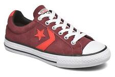Kids's Converse Star Player Ev Ox Lace-up Trainers in Red
