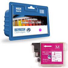 1 COMPATIBLE MAGENTA (PINK) BROTHER DCP MFC PRINTER INK CARTRIDGE LC985 / LC39