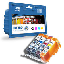 COMPATIBLE CANON PIXMA CLI-8 INK - 4 CARTRIDGE COLOUR VALUE PACK (CLI-8BK/C/M/Y)