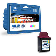 REMANUFACTURED LEXMARK 12A1980 (LEXMARK #80) COLOUR PRINTER INK CARTRIDGE