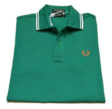 Polo T-shirt Men's Sweater Men Fred Perry Made In Italy Stretch Slim Fit 3094