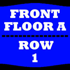 2 TIX RON WHITE 3/24 FLOOR A ROW 1 WILBUR THEATRE BOSTON