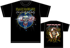 "IRON MAIDEN ""CIPWM,Maiden England Tour 2013"" Authentic Official Licensed T-Shirt"