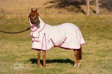 LOVE MY HORSE 5'0 - 6'9 Poly / Cotton Ripstop Combo Rug PINK / Purple
