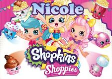 Shopkins Personalised Placemat (A4 Size Photo Laminate) great gift