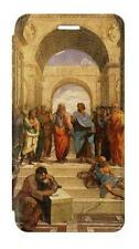 W1086 Raphael's School of Athens Flip Case For IPHONE Samsung