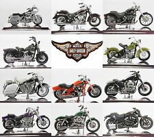 1:18 Scale Harley Davidson Motorcycle Selection #1 by Maisto Choose Model(s)