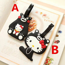 Cute HelloKitty Silicone Luggage Tags ID Card Holder Case  GS-C57