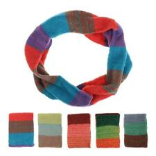 High Quality Soft Women Colorful Knitting Wool Neck Circle Wool Snood Scarf Wrap