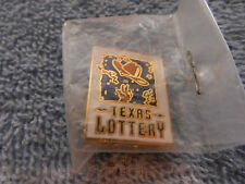 Texas Lottery Metal Pin with back
