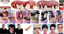 Vampire Witch Hill Billy Pirate Monster Character Teeth Fangs Nose Fingers 1ct