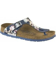 Papillio Gizeh BF $149rrp Painted Bloom Navy SOFT FOOTBED BNIB ***CLEARANCE***