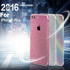 Luxury Bling Color Full Body Glitter Decal Skin Sticker Protector Cover iPhone 7