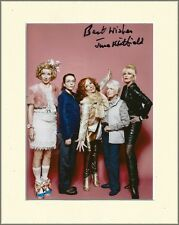 JUNE WHITFIELD AB-FAB ABSOLUTELY FABULOUS HAND SIGNED AUTOGRAPH PHOTO MOUNT &COA