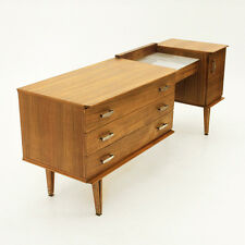 Toletta Italiana anni 50 in legno, vintage, design, modernist Dressing Table