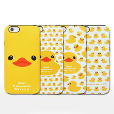 Rubber Duck iPhone 6/6s Plus Case Cover Soft Silicone Bumper Anti-Shock 4Types