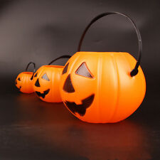Hallween Jack O Lantern Candy Holder Pumpkin Bucket Trick or Treat Candy Bucket