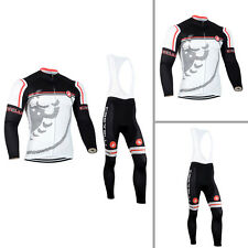 New Mens Breathable Cycling Jersey Bib Tights Outfits Road Bike Bicycle Clothes