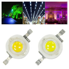 10x 1W 35MIL/3W 45MIL High Power Cool White/Warm White Led Light Bulb Lamp Beads