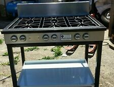 Commercial/ Industrial 6 Burner Chester Cooker Heavy Duty Cast Iron