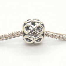 Authentic Genuine Sterling Silver INFINITE SHINE CHARM Bead
