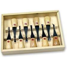 Flexcut 9pc Deluxe Palm Wood Carving Tool Carver Set FR405