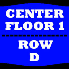 2 TIX THE COMEDY GET DOWN 2/18 FLOOR 1 ROW D AMWAY CENTER ORLANDO