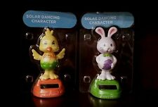 New Solar Powered EASTER Dancing Easter Bunny Or Easter Chick Pick 1!