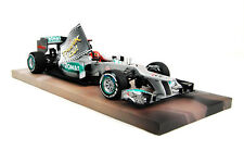 Michael Schumacher Mercedes GP W03 1:18