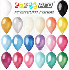 "PARTYPRO® - 30 PACK - 12"" PREMIUM PEARL / METALLIC BALLOONS BIRTHDAY PARTY"