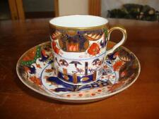 FINE ANTIQUE EARLY ROYAL CROWN DERBY IMARI BONE CHINA CUP AND SAUCER. #2.C1810..