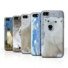 STUFF4 Back Case/Cover/Skin for Apple iPhone 7/Arctic Animals