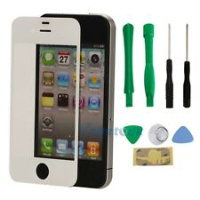 Replacement White Front Outer Glass Screen Lens For Apple iPhone 5 5G 5S - Tools