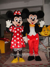 Hot Factory Sale Disney Mickey and Minnie Mouse Adult Mascot Costume Fancy Dress