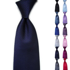 Fashion Men Classic Striped Ties WOVEN JACQUARD Silk Suits Tie Necktie Hot