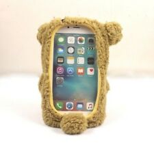 "For Iphone 7 4.7"" 5.5"" Plus 3D Cute Doll Toy Warm Plush Teddy Bear Cover Case"