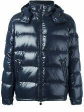 New Autumn/Winter 2016 Moncler Maya Quilted Down Gloss Jacket - Navy