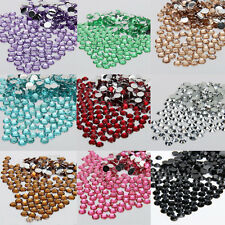 Wholesale 1000X Sparkling Resin Rhinestone Buttons Flatbacks Charms Beads 2/3mm