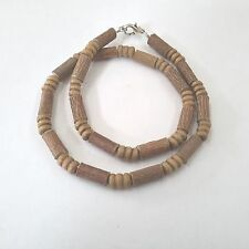 Hazelwood necklace + wood beads collier de noisetier(therapeutic)FREE SHIPPING