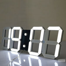 Modern Oversize Large Remote Led Digital Wall Clock Alarm Watch Timer Countdown