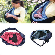 Infant Birth Baby Sling Stretchy Wrap Carrier Adjustable Backpack Breastfeeding