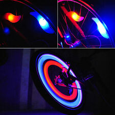 Safety Bike Bicycle Cycling Car Wheel Tire Tyre LED Spoke Light Lamp Perfect