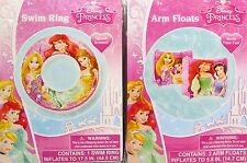 What Kids Want! Disney Princess Swim Ring and Arm Floats for Children Age 3+. Sh