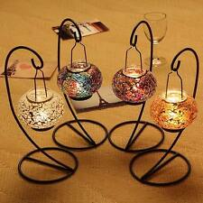 Mosaic Candle Lantern Tealight Candlestick Hurrican Party Event Bar Home decor