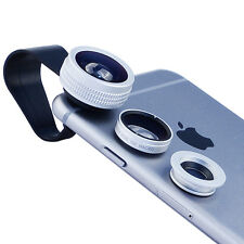 BIAZE Universal Clip Lens  Wide Angle Macro Fish Eye Camer Camera Lens for phone