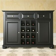 TRADITIONAL WOODEN SIDEBOARD BUFFET SERVER DINING ROOM FURNITURE STORAGE CABINET