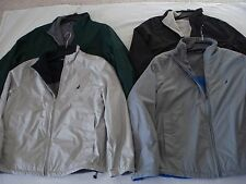 NWT Men's NAUTICA Softshell reversible Fleece Jacket Water Resist. Small S