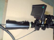 DIY Night Vision Scope with Display Screen Rifle Scope Accessory Torch Optional