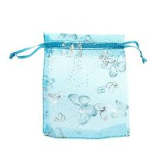 100x 3 Colors/Sizes Organza Mesh Bag Wedding Favor Xmas Gift Candy Jewelry Pouch